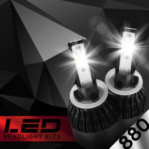 XENTEC LED HID Foglight Conversion kit 885 6000K for 1993-1994 GMC Safari