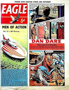 EAGLE - 27th JANUARY 1962 (24 - 30 Jan) RARE 60th BIRTHDAY GIFT !!..beano victor