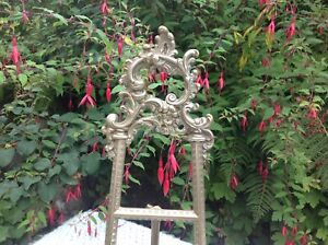16 inch / A Vintage Easel, Italian Baroque Brass Heavy Display / Picture Easel.