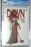 Dawn Three Tiers #4 CGC 9.8 Joseph Michael Linsner Image Comics 2004