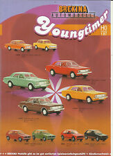 Info sheet Brekina Novelties Youngtimer 2004 Model Cars Accessories Ho 1:87