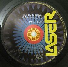 PATERSON Single- No No Nina- Early Oz Prog Psych Rock- Circa 1977- LASER Label