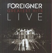 Foreigner - Greatest Hits LIVE (CD) (New & Sealed)