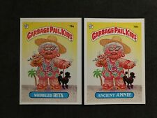 Garbage Pail Kids OS2 78a 78b Wrinkled Rita and Ancient Annie