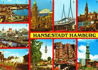 Hansestadt Hamburg , Ansichtskarte