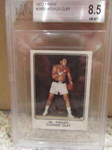 1973 Panini Campioni Dello Sport Muhammad Ali BVG 8.5 NM-MT+ Cassius Clay Rare