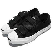 Converse Jack Purcell 3V Low Canvas Black White Men Women Shoes Sneakers 160236C