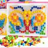 Kids DIY Mushroom Nails Jigsaw Peg Board Game Educational Puzzle Toys New