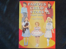 Famous Child Stars Paper Doll Book by Tom Tierney Perfect Condition