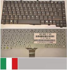 Clavier Qwerty Italien FUJITSU Siemens Amilo M7440 71-31736-04 K051305E1 IT Noir