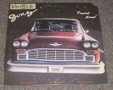 Front End Gonz~RARE Private Label Jazz Trio~Bergonzi~Gertz~Gullotti~FAST SHIP!!!