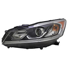 TYC NSF Left Side Halogen Headlight For Honda Accord Sedan EX/EX-L/SE 2016-2017
