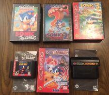 Sonic the Hedgehog 1 2 3, Spinball, 3D Blast, & Sonic & Knuckles (Sega Genesis)