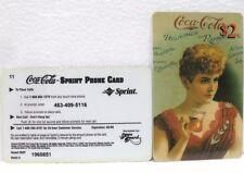 Coca-Cola - SCORE BOARD-SPRINT PHONE CARD n° 02 - sc. 02-98-scheda telefonica