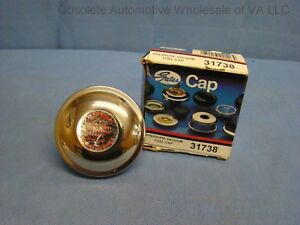 1972 73 74 75 76 77 78 International Scout II Pick Up Gas Cap Chrome USA NORS