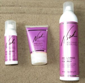 Nick Chavez Angel Wings Super Light Hair Spray 284g, 64g and Styling Paste 114g