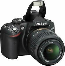 Nikon D3200 24.2MP Digital SLR Camera with AF-S DX VR 18-55mm