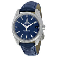 Omega Seamaster Aqua Terra 150 Co Axial Blue Dial Men's Watch 23113392103001