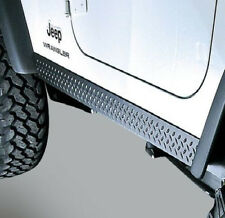 Rugged Ridge Side  Body Armor Rocker Panel Kit for Jeep TJ Wrangler 1997-2006