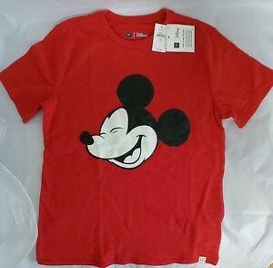 GAP Kids Disney Short Sleeve Boys Size 12 (XL) 100% Cotton Mickey Mouse Tee New