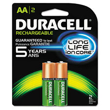 Duracell Rechargeable NiMH Batteries with Duralock Power Preserve Technology AA