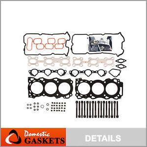 Fits 05-13 Nissan Frontier Pathfinder Xterra 4.0L Head Gasket Set Bolts VQ40DE