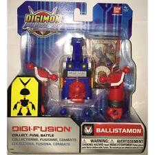Bandai Digimon Digi Fusion Ballistamon Action Figure Brand New