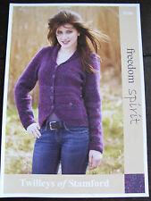 "TWILLEYS knitting pattern: onorevoli BIB Anteriore Giacca, DK, 32-42 "", 9106"