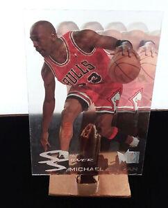 MICHAEL JORDAN 1995/96 FLEER METAL SLICK SILVER INSERT #3 OF 10