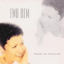 EWA BEM - MÓWIĘ TAK MYŚLĘ NIE - SINGLE CD, 2001 - PROMO