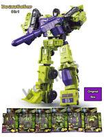 Transformers WJ DEVASTATOR  Action Figure Engineering Truck Robot(Origina Box)