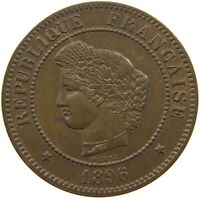 FRANCE 5 CENTIMES 1896 TOP #t112 1121