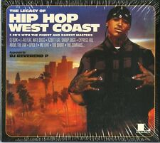 THE LEGACY OF HIP HOP WEST COAST  - COMPILATION - 3 CD NUOVO SIGILLATO