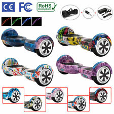 "Hoverboard 6.5"" Electric Scooters Bluetooth LED 2 Wheels Lights Balance Board"