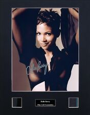 Halle Berry Ver1 Signed Photo Film Cell Presentation