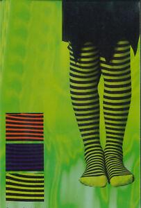 ADULT STRIPED LADIES STRIPE SEAMLESS FULL FOOT GIRL TIGHTS HALLOWEEN FANCY DRESS