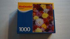 Kodacolor 1000 Piece Puzzle Called Delightful Dahlias RoseArt