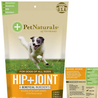 DOG CHEWS Hip and Joint Treats Daily Support Supplement 60 Bite-Sized