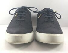 Kate Spade Navy Suede Oxford Sneakers Womens Size US 6.5M