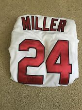 Andrew Miller Autographed Cleveland Indians Jersey Large