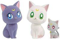 "Movie ""Sailor Moon Eternal"" Fluffy Puffy ~ Luna / Artemis & Dia..."