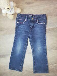Girls Levi's Slim Straight Fit Distressed Denim Jeans Age 2 Years
