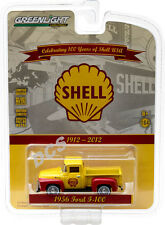 GREENLIGHT 1956 FORD F-100 SHELL OIL 100TH ANNIVERSARY 1/64 DIECAST CAR 27890-A