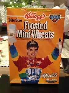 Frosted Mini-Wheats Jeff Gordon 1995 Commemorative Box Empty The Kid