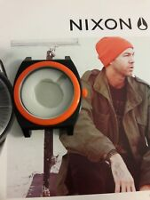 Nixon The Time Teller  orange/black just case.