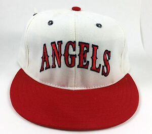 California Angels Pro-Line ANNCO Vintage Baseball Hat Wool Pro Halo LA Fitted 7
