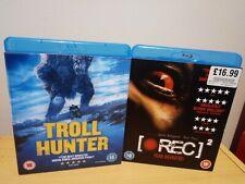 Troll Hunter & Rec 2 Blu Ray UK Release w/ Slip Cases