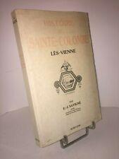 Histoire de Sainte-Colombe Lès-Vienne par E.-J. Savigné