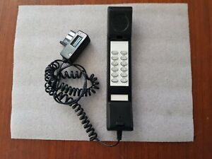 Téléphone Vintage Noir Agrée DGPT 95.785.P date 12/12/1995 Rare et fonctionnel