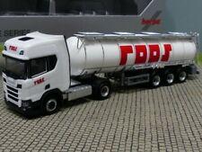 1/87 Herpa Scania CR 20 Highline Roos Chemietank-Sattelzug ( PL ) 940269